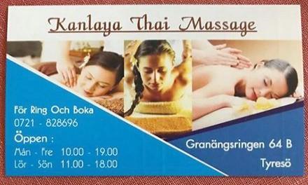 Kanlaya Thai Massage 5