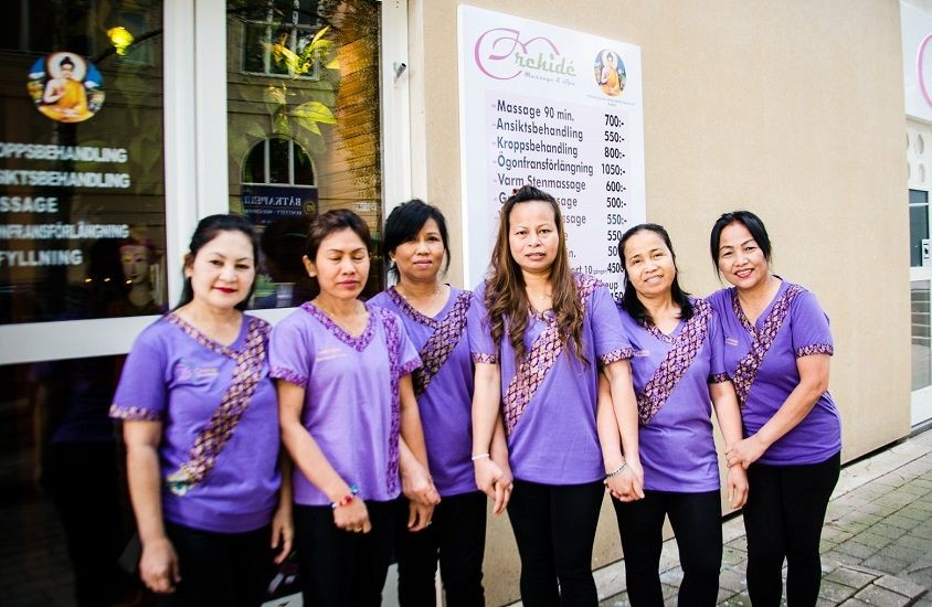 Thai massage guiden orchide thaimassage